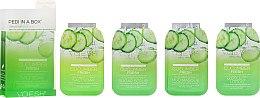 Parfums et Produits cosmétiques Soin et modelage des pieds au concombre - Voesh Pedi In A Box Deluxe Pedicure Cucumber Fresh