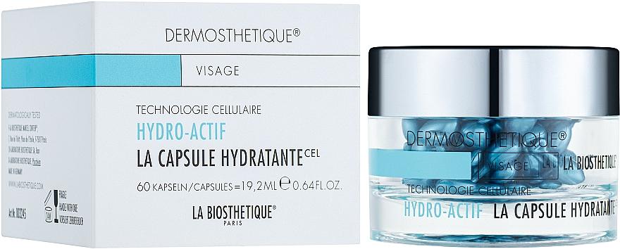 Capsules à l'extrait de romarin pour visage - La Biosthetique Dermosthetique Hydro-Actif La Capsule Hydratante