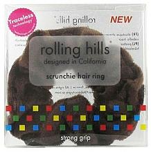 Parfums et Produits cosmétiques Élastique à cheveux, marron - Rolling Hills Scrunchie Hair Rings Brown