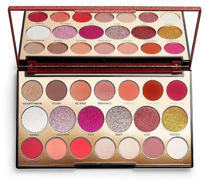 Palette de fards à paupières, 20 teintes - Makeup Revolution Precious Stone