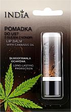 Parfums et Produits cosmétiques Baume à lèvres à l'huile de chanvre - India