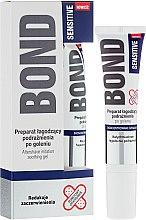 Parfums et Produits cosmétiques Gel après-rasage apaisant les irritations - Bond Sensitive Aftershave Irritation Soothing Gel