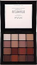 Parfums et Produits cosmétiques Palette de fards à paupières - NYX Professional Makeup NYXUltimate Shadow Palette