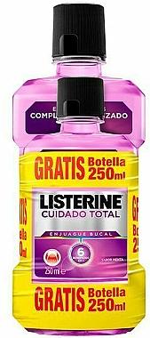Set - Listerine Total Care (bain de bouche/500 ml + bain de bouche/250 ml) — Photo N1