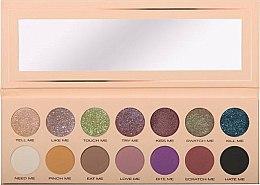 Parfums et Produits cosmétiques Palette de fards à paupières avec fermeture magnétique - Pierre Rene Palette Match System Eyeshadow Pinch Me