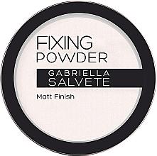 Parfums et Produits cosmétiques Poudre de fixation matifiante - Gabriella Salvete Fixing Transparent Powder
