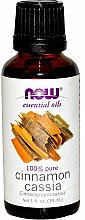 Parfums et Produits cosmétiques Huile essentielle d'écorce de cannelle - Now Foods Essential Oils 100% Pure Cinnamon Cassia