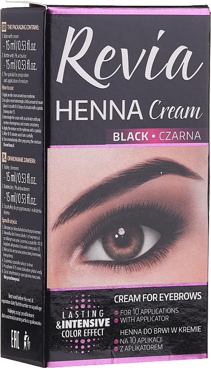 Coloration en crème pour sourcils - Revia Eyebrows Henna