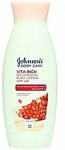 Parfums et Produits cosmétiques Lotion corporelle éclaircissante à la grenade - Johnson's Body Care Vita-Rich