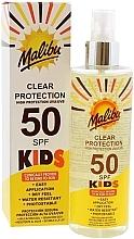Parfums et Produits cosmétiques Spray solaire pour enfants - Malibu Kids Clear Protection Spray SPF 50