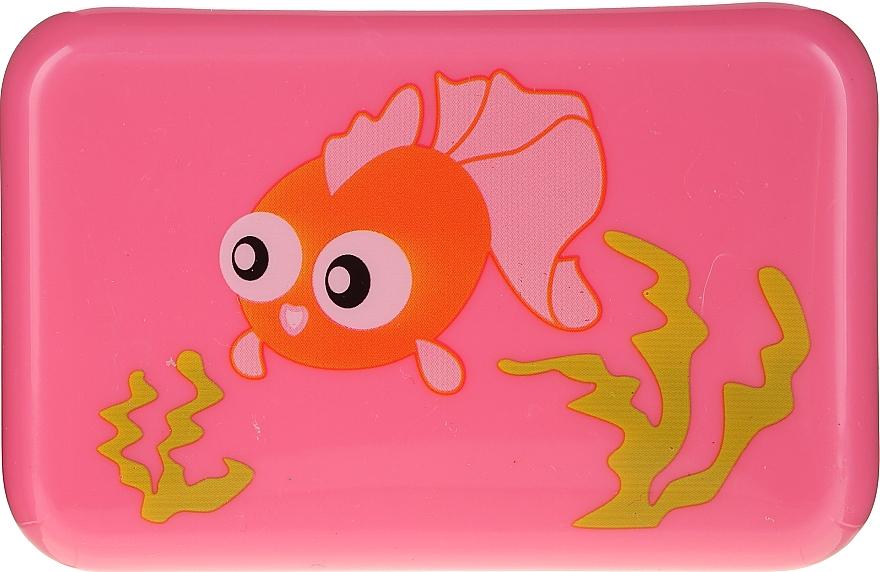 Porte-savon,6024, rose au poisson - Donegal