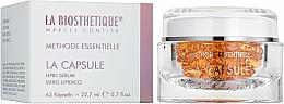 Parfums et Produits cosmétiques Capsules régénérantes aux céramides et vitamines pout visage - La Biosthetique Methode Essentielle La Capsule Lipid Serum