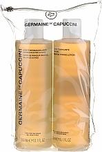 Parfums et Produits cosmétiques Germaine de Capuccini - Set (lotion-tonique pour visage/300ml + huile démaquillante/300ml)