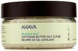 Parfums et Produits cosmétiques Beurre exfoliant aux sels de la mer Morte pour corps - Ahava Softening Butter Salt Scrub