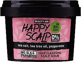 Parfums et Produits cosmétiques Gommage au sel marin pour cuir chevelu - Beauty Jar Happy Skalp Deep Cleansing Scalp Scrub