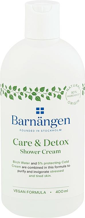 Crème de douche à l'eau de bouleau - Barnangen Care & Detox Shower Cream