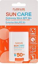 Parfums et Produits cosmétiques Stick solaire au beurre de karité pour visage - Floslek Sun Care Protective Stick SPF50+