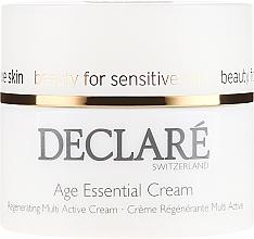 Crème à l'extrait de pivoine pour visage - Declare Age Control Age Essential Cream — Photo N2