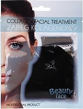 Parfums et Produits cosmétiques Masque hydrogel au collagène et extrait de cacao pour visage - Beauty Face Collagen Hydrogel Mask