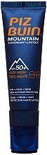 Parfums et Produits cosmétiques Crème solaire + baume à lèvres spécial montagne SPF 50 - Piz Buin Mountain Suncream + Lipstick SPF50