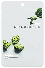 Parfums et Produits cosmétiques Masque tissu à l'extrait de brocoli pour visage - Eunyul Daily Care Mask Sheet Broccoli