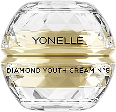 Parfums et Produits cosmétiques Crème jour et nuit anti-rides hydratante pour le visage et le contour des yeux - Yonelle Diamond Youth Cream