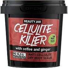 Parfums et Produits cosmétiques Gommage sec au café et au gingembre pour corps - Beauty Jar Anti-Cellulite Dry Body Scrub
