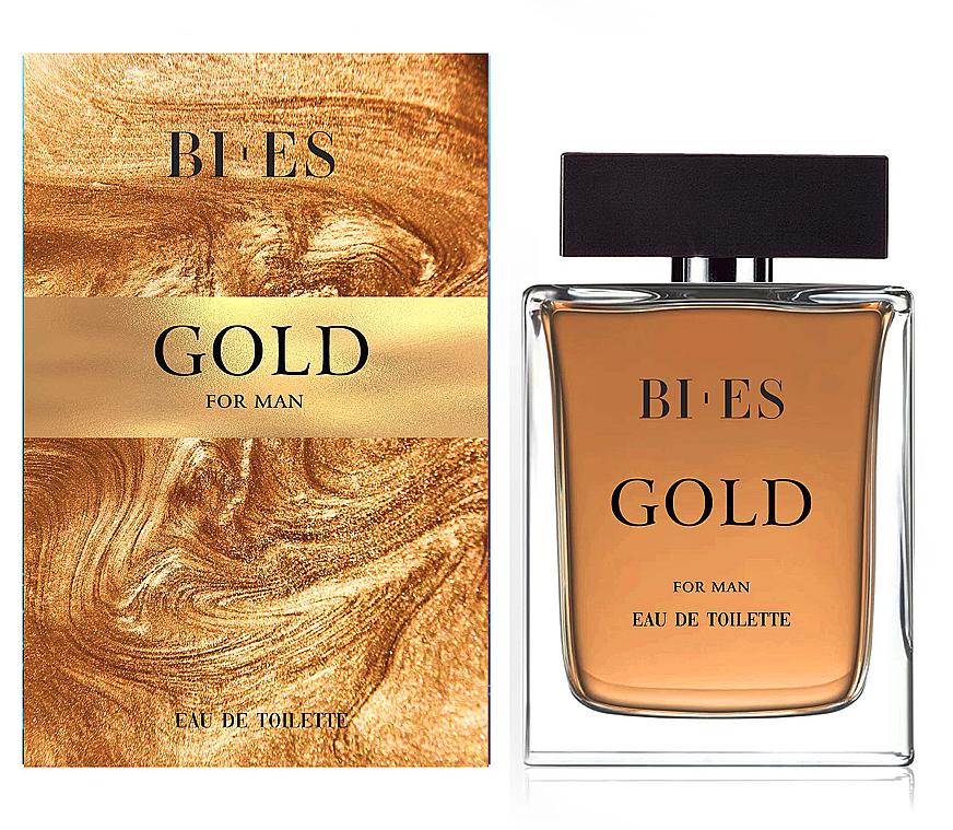 Bi-es Gold For Man Eau De Toilette - Eau de Toilette
