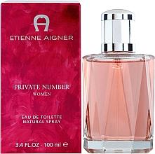 Parfums et Produits cosmétiques Etienne Aigner Private Number Women - Eau de Toilette