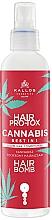 Parfums et Produits cosmétiques Après-shampooing liquide à l'huile de graines de chanvre - Kallos Hair Pro-Tox Cannabis Hair Bomb Liquid Conditioner