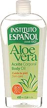 Parfums et Produits cosmétiques Huile corporelle à l'aloe vera - Instituto Espanol Aloe Vera Body Oil