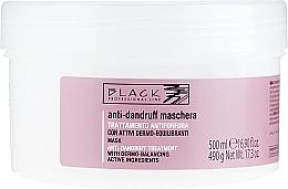 Parfums et Produits cosmétiques Masque anti-pelliculaire - Black Professional Line Anti-Dandruff Mask