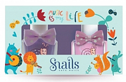 Parfums et Produits cosmétiques Set de vernis à ongles 2x10,5ml - Snails Mini Bebe Music Is My Life