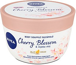 Parfums et Produits cosmétiques Soufflé à l'huile de fleur de cerisier et à l'huile de jojoba - Nivea Body Souffle Cherry Blossom & Jojoba Oil