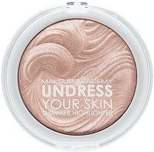 Parfums et Produits cosmétiques Poudre illuminatrice - MUA Makeup Academy Shimmer Highlighter Powder
