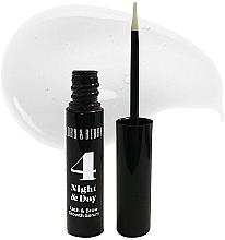 Parfums et Produits cosmétiques Sérum stimulant la croissance pour cils et sourcils - Lord & Berry 4 Night and Day Lash & Brow Growth Serum