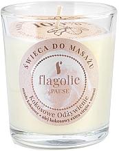 Parfums et Produits cosmétiques Bougie de massage à l'huile de noix de coco - Flagolie Coconut Nutrition Massage Candle