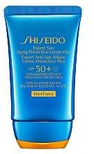 Parfums et Produits cosmétiques Crème solaire waterproof pour visage - Shiseido Expert Sun Aging Protection Cream SPF50