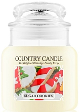 Parfums et Produits cosmétiques Bougie parfumée en jarre - Country Candle Sugar Cookies