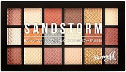 Parfums et Produits cosmétiques Palette de fards à paupières - Barry M Eyeshadow Palette Sandstorm