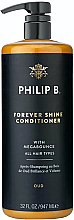 Parfums et Produits cosmétiques Après-shampooing anti-jaunissements - Philip B Forever Shine Conditioner