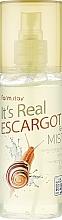Parfums et Produits cosmétiques Gel brume à la bave d'escargot pour visage - FarmStay It's Real Escargot Gel Mist