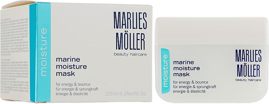 Masque à l'huile d'avocat pour cheveux - Marlies Moller Marine Moisture Mask — Photo N1