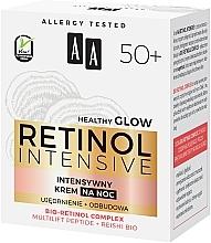 Crème de nuit au complexe de rétinol bio - AA Retinol Intensive Healthy Glow 50+ Night Cream — Photo N4