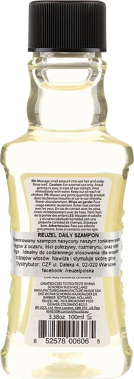 Shampooing quotidien - Reuzel Hollands Finest Daily Shampoo — Photo N2