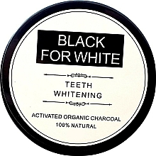 Parfums et Produits cosmétiques Poudre blanchissante au charbon actif pour les dents - Biomika Black For White Teeth Whitening