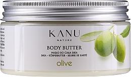 Parfums et Produits cosmétiques Beurre au karité pour corps, Olive - Kanu Nature Olive Body Butter