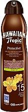 Parfums et Produits cosmétiques Huile sèche solaire en spray, huile d'argan SPF 15 - Hawaiian Tropic Protective Argan Oil Spray SPF 15