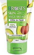 Parfums et Produits cosmétiques Crème à l'huile d'avocat pour mains - Nature of Agiva Roses Vege Salad Regeneration Hand Cream