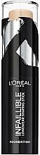 Parfums et Produits cosmétiques Fond de teint en stick - L'Oreal Paris Infallible Shaping Stick Foundation